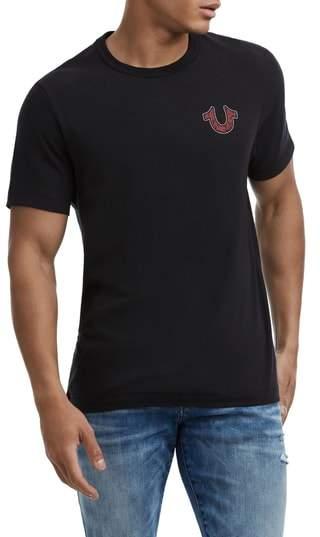 True Religion Brand Jeans Lit Skull T-Shirt