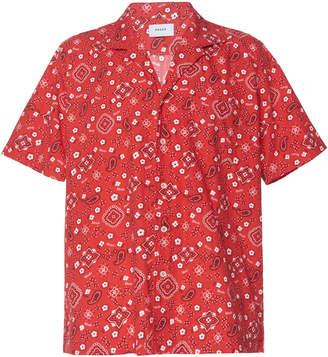 Rhude Bandana-Print Jersey Hawaiian Shirt