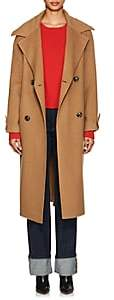 THE LOOM Women's Brushed Wool-Alpaca Double-Breasted Coat - Camel