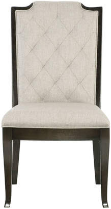 Bernhardt Sutton House Tufted Dining Side Chairs (Pair)