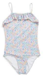 Ralph Lauren Toddler's Floral One-Piece Swimsuit