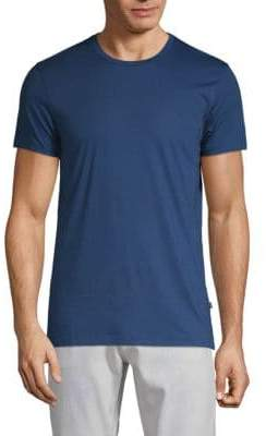 J. Lindeberg Textured Cotton Blend Tee
