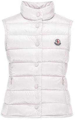 Moncler Liane Down Lightweight Puffer Vest, Size 8-14 $275 thestylecure.com