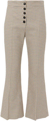 Veronica Beard Zap Crop Flare Trousers