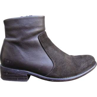 Diesel Leather ankle boots