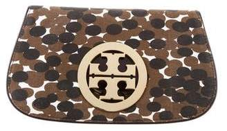 Tory Burch Canvas Amanda Clutch