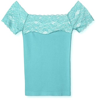 Pink Label Gentiana Lace Top