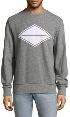 Rag & Bone Heather Cotton Sweatshirt