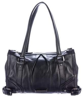 Burberry Leather Buckle Handle Bag