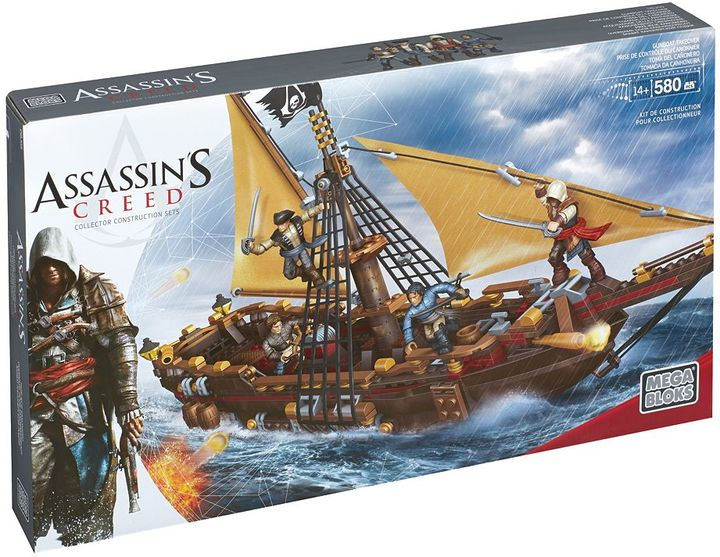 Mega Bloks Assassin's Creed Gunboat Takeover