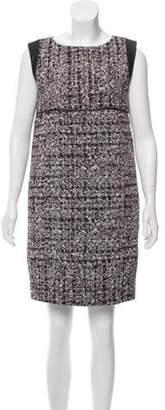 J. Mendel Mini Tweed Dress Black Mini Tweed Dress