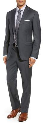John W. Nordstrom R) Traditional Fit Solid Wool Suit