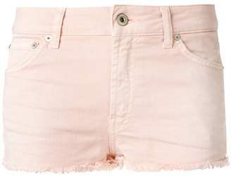 Dondup frayed hem denim skorts
