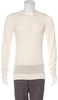 Marc Jacobs Long Sleeve Henley T-Shirt