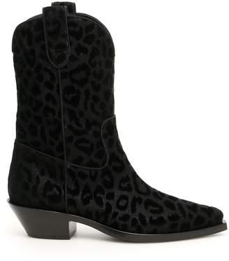 Dolce & Gabbana Gaucho Texan Boots