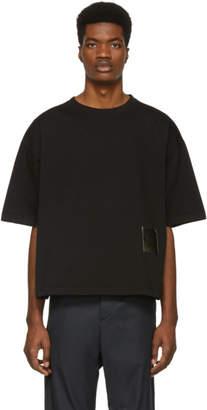 Oamc Black Drawcord T-Shirt