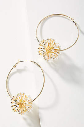 Anton Heunis Alluring Aster Hoop Earrings