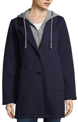 SEBBY Sebby Fleece Hooded Lightweight Jacket