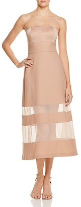 AQ/AQ Zaine Strapless Dress $310 thestylecure.com