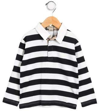 Burberry Boys' Striped Polo Shirt w/ Tags