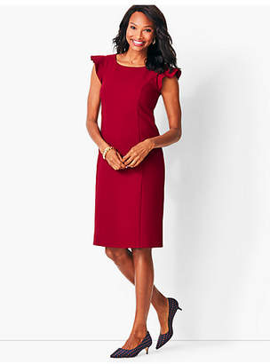 Talbots Italian Luxe Double-Cloth Sheath Dress