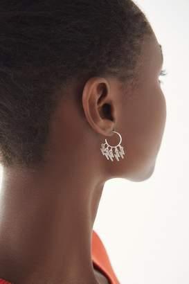 Urban Outfitters Mini Charm Hoop Earring
