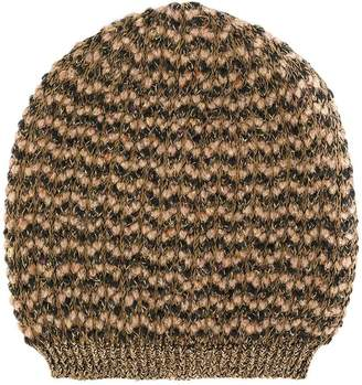 Twin-Set knitted beanie