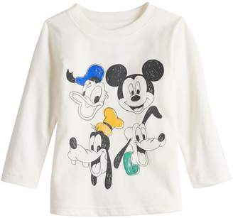 Disneyjumping Beans Disney's Mickey Mouse Baby Boy Donald, Mickey, Goofy & Pluto Softest Graphic Tee by Jumping Beans