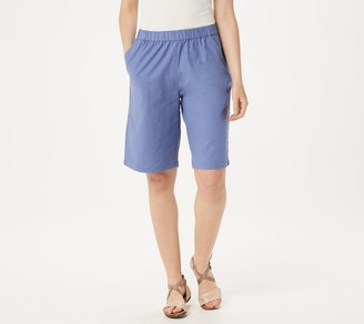 Denim & Co. Pull-On Bermuda Shorts
