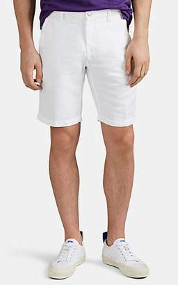 66aba2d0aad Massimo Alba Men s Washed Linen-Cotton Canvas Shorts - White