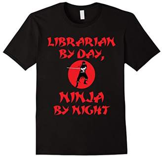 DAY Birger et Mikkelsen Librarian By Ninja By Night Cute Japanese Culture Funny T-Shirt