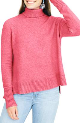 J.Crew Side Slit Supersoft Turtleneck Sweater