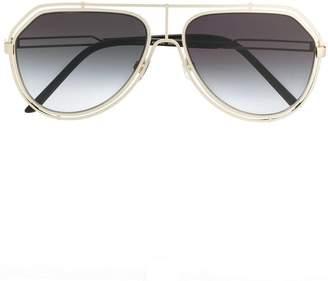 Dolce & Gabbana Eyewear Cartier aviator sunglasses