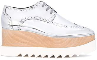 Stella McCartney metallic Elyse shoes