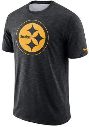 2ac61483d Nike Men Pittsburgh Steelers Dri-Fit Cotton Slub On-Field T-Shirt