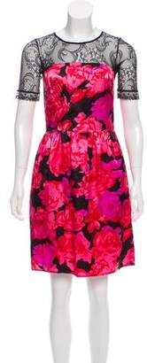 See by Chloe Floral Paneled Dress