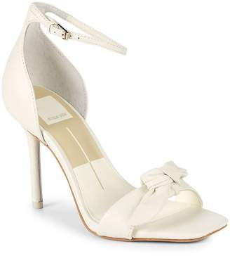 Dolce Vita Women's Helana Bow Leather Sandals