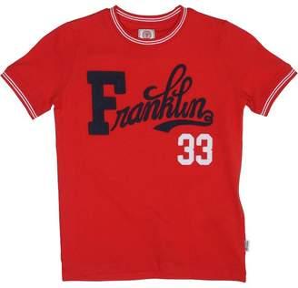 Franklin & Marshall Boys Retro T-Shirt Letterbox Red