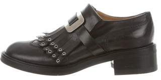 Sartore Leather Kiltie Oxfords
