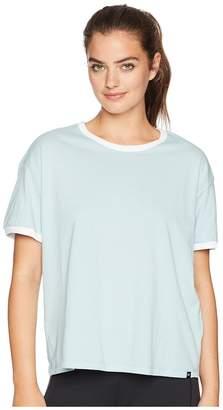 Hurley Staple Ringer Short Sleeve Tee Women's T Shirt