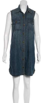 Current/Elliott Denim Sleeveless Dress