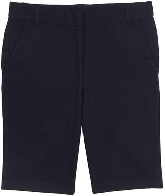 Chaps Girls Plus Size Stretch Bermuda Shorts