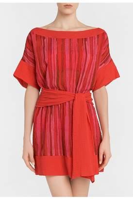 La Perla Double Visions Cotton T-Dress