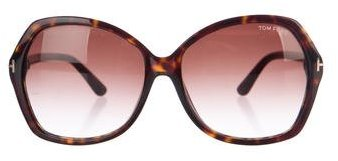 Tom Ford Tom Ford Carola Oversize Sunglasses