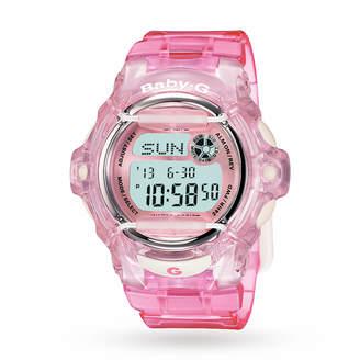 Baby-G Casio Ladies Alarm Chronograph Watch