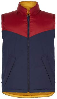 Burberry Colour Block Reversible Gilet