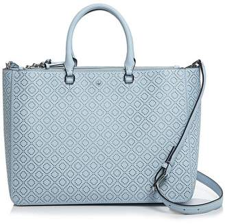 Tory Burch Robinson Perforated Convertible Satchel