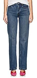 RE/DONE Women's High Rise Jeans - Md. Blue