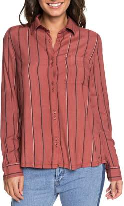 Roxy Concrete Streets Stripe Shirt