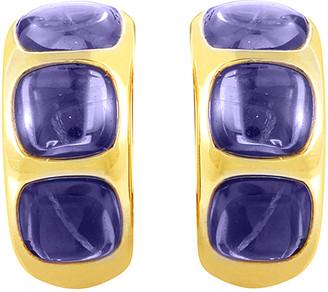Pomellato 18K Iolite Earrings